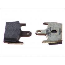 Remblokset Rear argento-AG 59 1x44 6x9 6mm HONDA X8R/ SZX