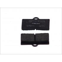 Remblokset Rear 59 9x57 2x8 1mm