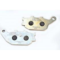 Remblokset Rear argento-AG 86 1x40 2x8 9mm