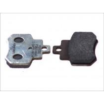 Remblokset Rear argento-AG 55 6x46x7mm KYMCO GRAND DINK 250 2001-