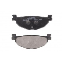 Remblokset Rear eco friction-EF 100 1x38 3x12mm
