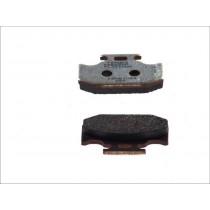 Remblokset Rear 62 1x40 9x9 4mm KAWASAKI KLX KX