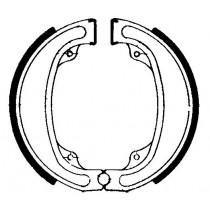 Trommelremblokken front 140x25mm include springs HONDA CR XR 125/250/500 1970-