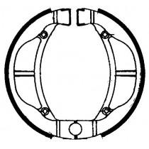 Trommelremblokken FERODO MOTOCYKLOWE KAWASAKI KX 60 A1 - A2 - B1/6 KX 80 E1 KLX 110 R