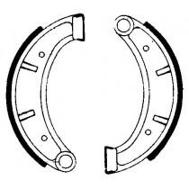 Trommelremblokken front 160x25mm HUSQVARNA AE CR RC TC TE TX WR WR/E 125-510 1983-