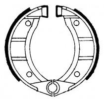 Trommelremblokken front 104x22mm include springs GARELLI FORMUNO 50 1987-