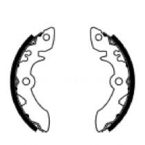 Trommelremblokken front 140x20mm include springs