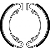Trommelremblokken front 160x25mm include springs HONDA XL 250 1978-