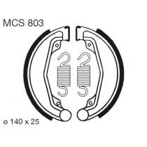 Trommelremblokken front 140x25mm include springs HONDA C CD CL CM XR 50-250 1978-