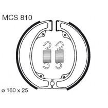 Trommelremblokken front 160x25mm include springs HONDA XL 500 1979-