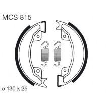 Trommelremblokken front 130x25mm include springs HONDA XL XR 500 1982-