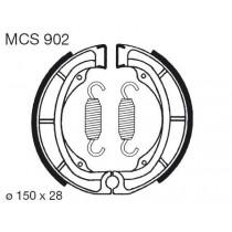 Trommelremblokken front 150x28mm include springs KAWASAKI KL KX