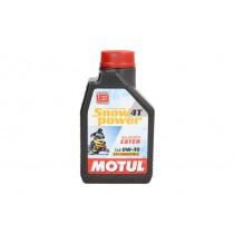 Motorolie 4T MOTUL Snowpower 0W40 1l SL